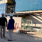 Photo of CMEI construction.
