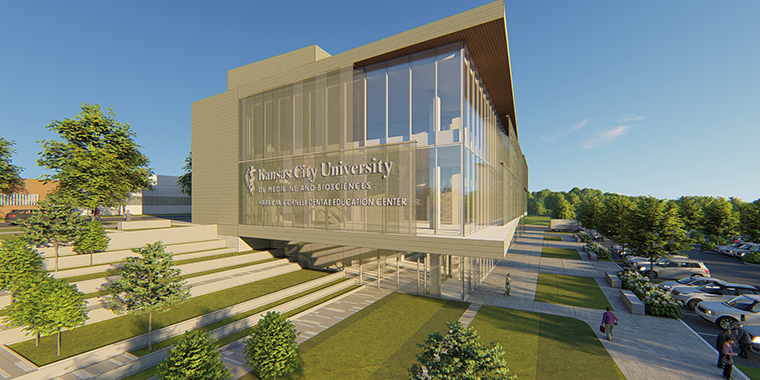 Rendering if the new facility.