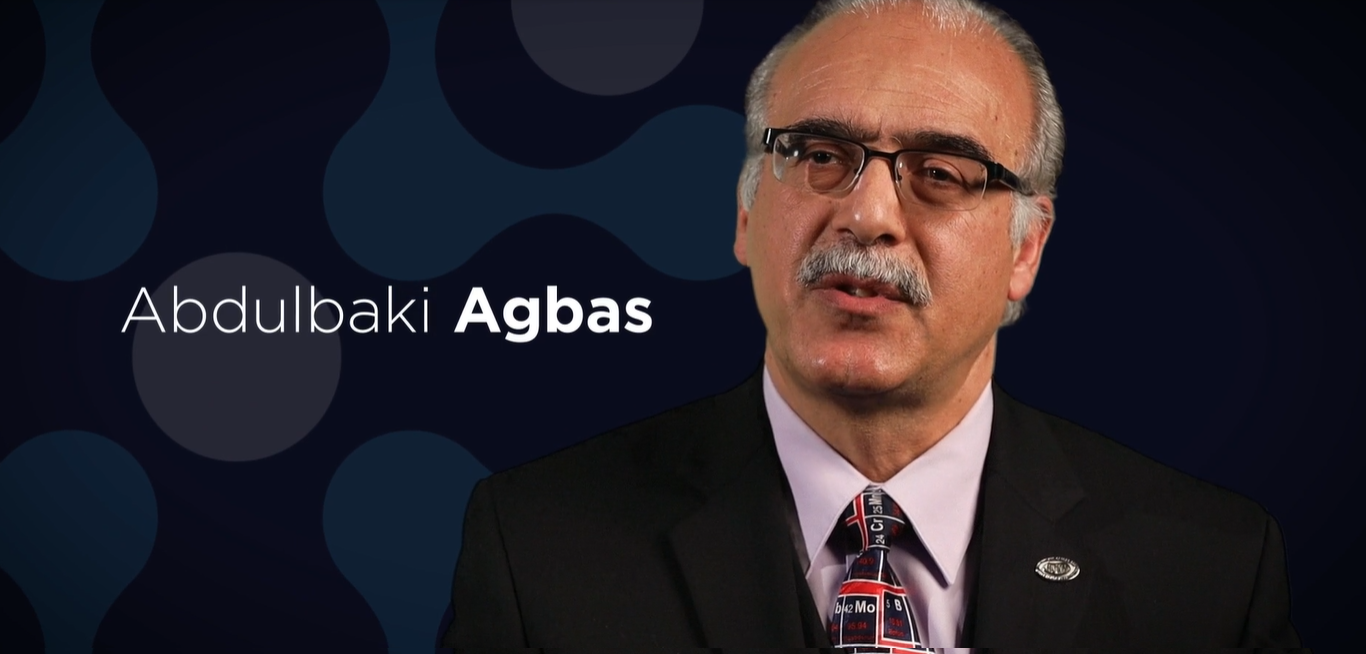 Dr. Abdulbaki Agbas, professor and director of research at Kansas City University