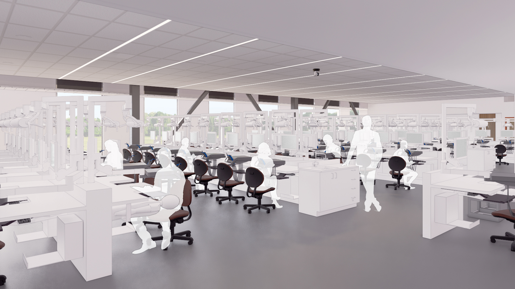 Simulation Lab - College of Dental Medicine