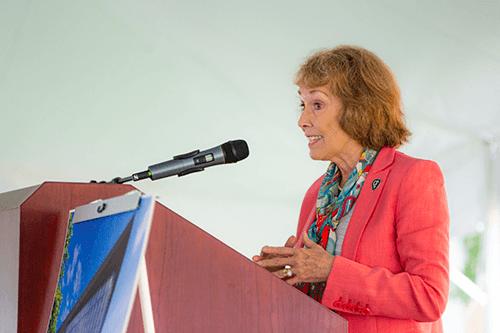 Founding Dean Linda C. Niessen, DMD, MPH, MPP