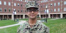 Faisal Mian, KCU Military Student