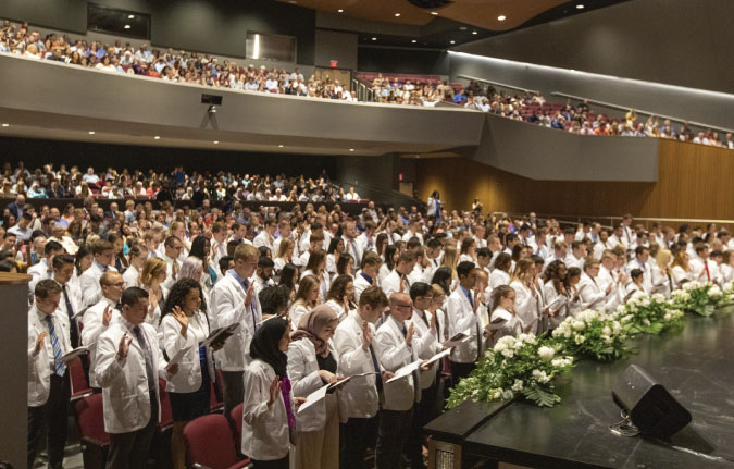 KCU-Joplin Welcomes Third Class With White Coating Ceremony