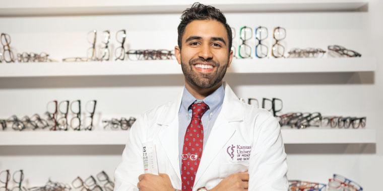 KCU COM Student Doctor Viren Rana