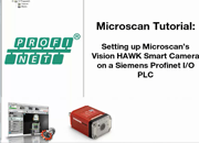 AutoVISION Demo 12: Connecting to a PLC Over PROFINET I/O Using Microscan Link