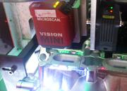 迈思肯机器视觉在发动机零部件上读取二维码及校验条码等级