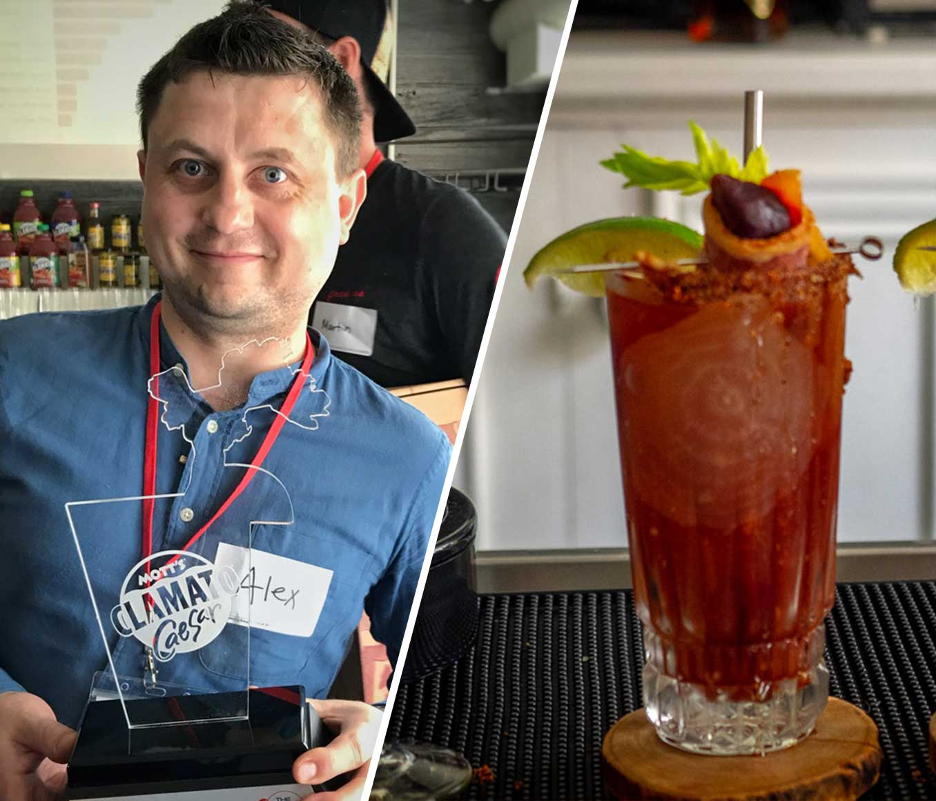 WINNER THE BEST CAESAR IN ONTARIO!
