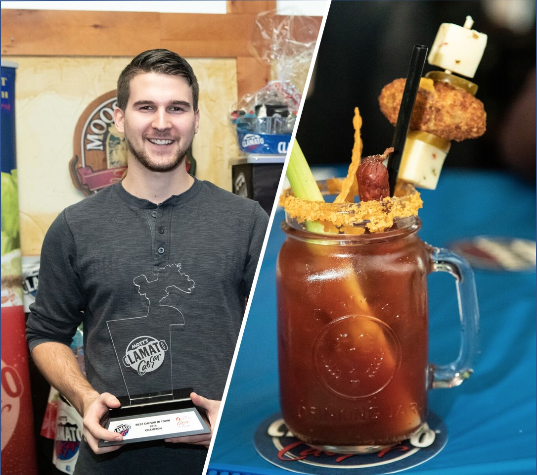 WINNER THE BEST CAESAR IN MANITOBA!