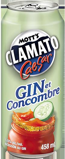 Prêt-à-boire Gin et Concombre