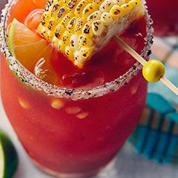 BBQ Corn Caesar