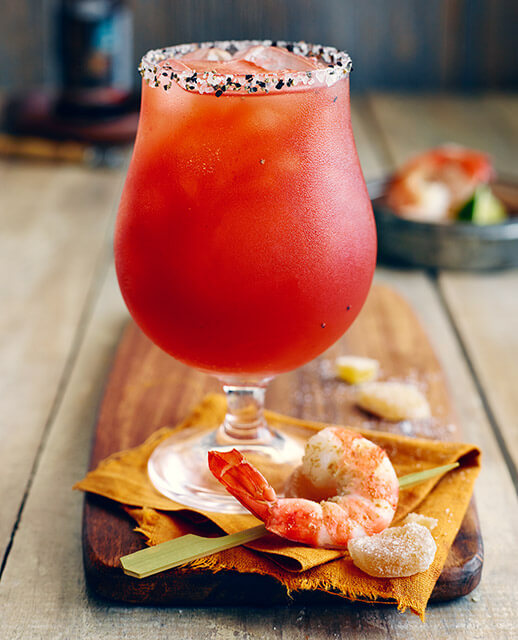 Gin & Ginger Caesar