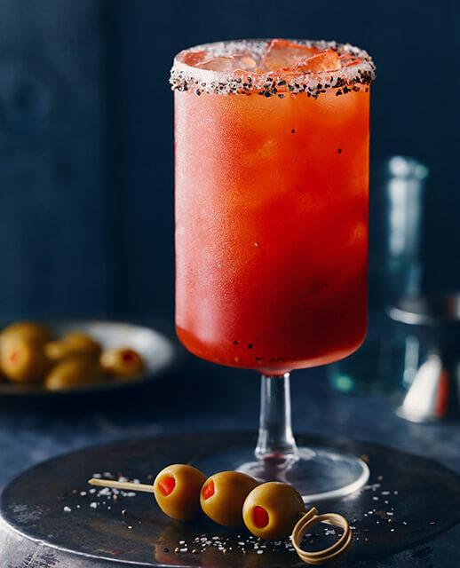Spicy Pimento Caesar