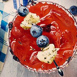 Blueberry Caesar