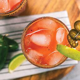 Caesar au jalapeño mariné et à la lime