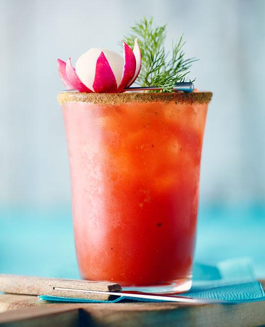 Caesar au radis et à l'aneth