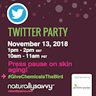 Goddess Garden Twitter Party #GiveChemicalsTheBird