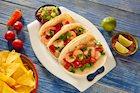 Cilantro and Garlic Infused Shrimp Tacos