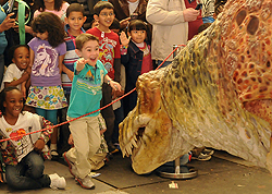 Dinosaur Day at Newark Museum