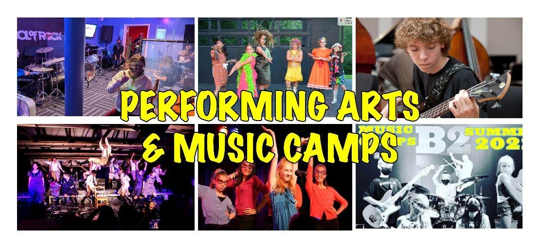 performing arts camps NJ