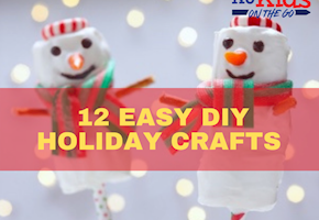 12 Easy DIY Crafts & Decorations The Whole Family Can Make