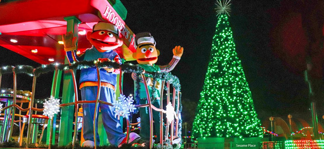 Sesame Place Christmas