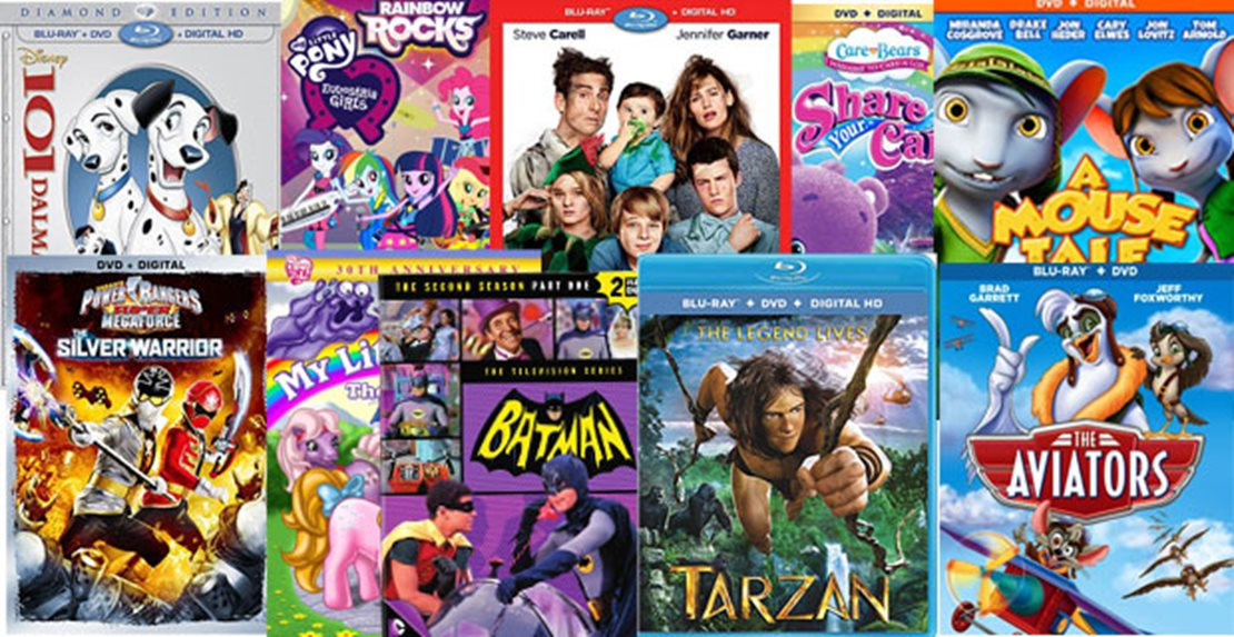 10 DVD, Blu-ray & Instant Video releases for kids & teens