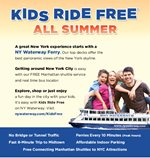 NY WATERWAY SUMMER SPECIAL - KIDS RIDE FREE!