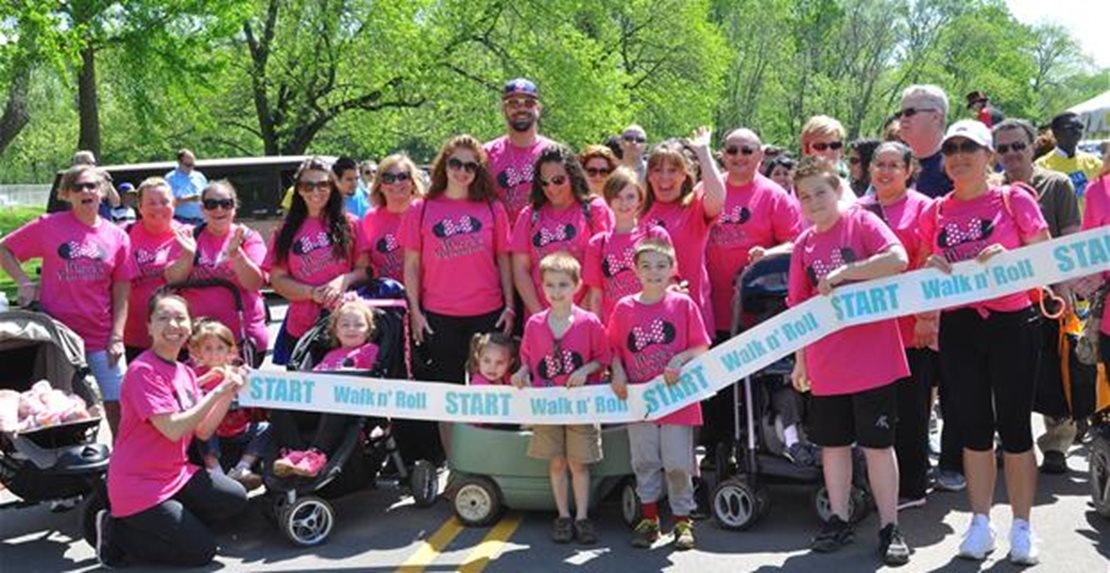 Walk n' Roll for Children's Specialized Hospital May 16, 2015