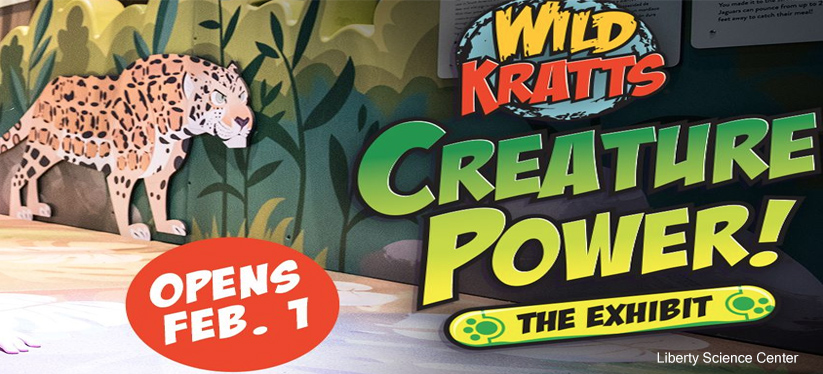 Wild Kratts exhibit at Liberty Science Center