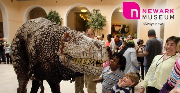 DINOSAUR DAy At the NEWARK MUSEUM