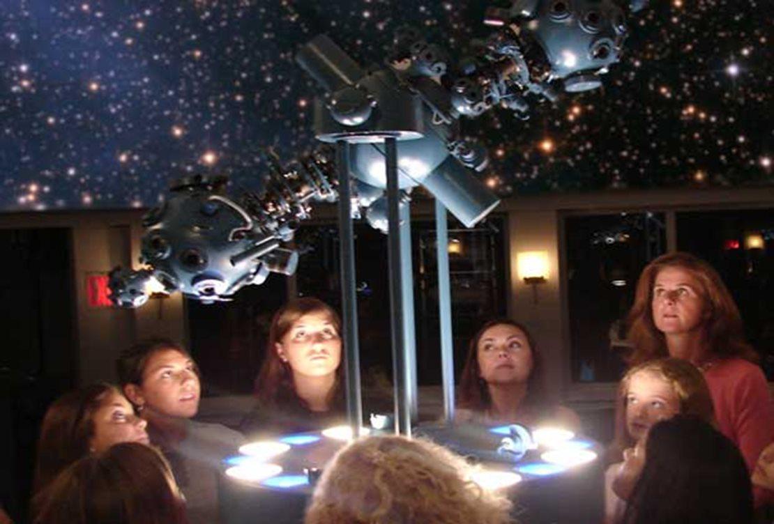 The Alice and Leonard Dreyfuss Planetarium at Newark Museum