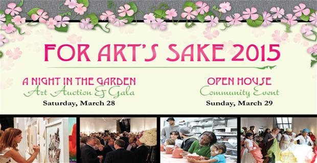 The Art Center hosts A Night in the Garden and Open House March 28 & 29