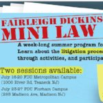 FDU offers summer mini law school for high school students