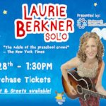 Queen of Children's Music, Laurie Berkner, performing at QuickChek New Jersey Festival of Ballooning