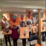 A Sip Of Art Opens In West Orange NJ, Paint And Sip Studio With A Charitable Twist