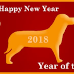 Year of the Dog 2018 - Happy Lunar and Chinese New Year!