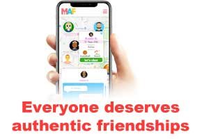 Making Authentic Friendships ... A Caring App For Our Autistic And Disabled Community