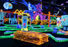 Monster Mini Golf - Mini Golf, Monsters, Music And Now New Arcade Games Including A Laser Maze