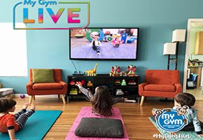 My Gym Interactive Live Online Classes and Online Birthday Parties for Kids