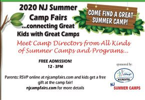 Camp Fairs Coming to New Jersey...held on January - February 2020