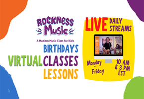 Rockness Music Free Live Classes for Kids at Home