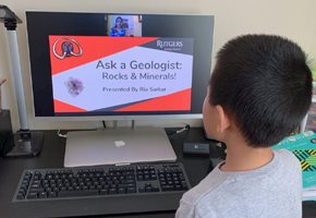 "Rutgers Geology Museum Live Stream Web Series ""Ask A Geologist"""