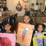 Spotlight on A Sip of Art - Art Classes For Children