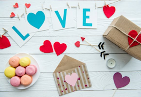 5 Family Friendly NJ places for making Arts & Crafts this Valentine's Day