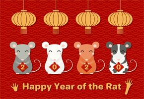 Year of the Rat 2020, Celebrate Chinese New Year