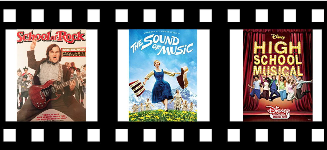 Family Musicals, School of Rock, Sound of Music, Disney's High School Musical