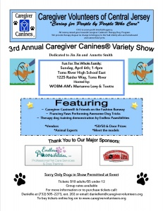 3rd Annual Caregiver Canines® Variety Show