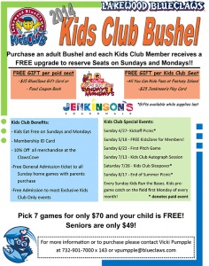 BlueClaws Kids Club