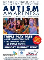 Sensory Awareness Event at IPlay America