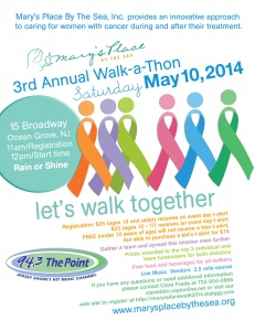 3rd Annual Walk for Mary's Place by the Sea